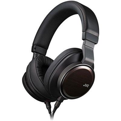JVCケンウッド ハイレゾ対応ステレオヘッドホン(バンドポータブルヘッドホン)WOOD 01 HA-SW01