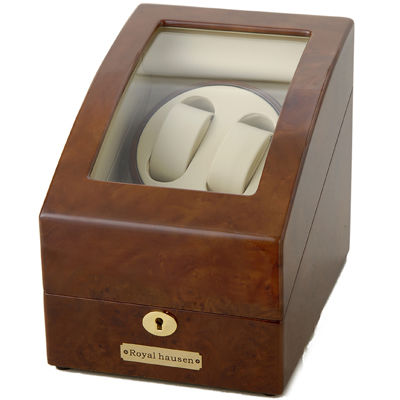 ロイヤルハウゼン ワインダー 時計収納ケース付きワインダー2本巻3本収納 GC03 S31 ワインディングマシーン 腕時計/自動巻き機 GC03-S31【納期目安:納期未定】