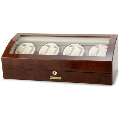 ロイヤルハウゼン ワインダー 時計収納ケース付きワインダー8本巻9本収納 GC03 Q31 ワインディングマシーン 腕時計/自動巻き機 GC03-Q31