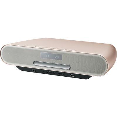 パナソニック 低音を豊かに再生する「ツイステッドポート」搭載コンパクトステレオシステム (ウォームゴールド) (SCRS55N) SC-RS55-N