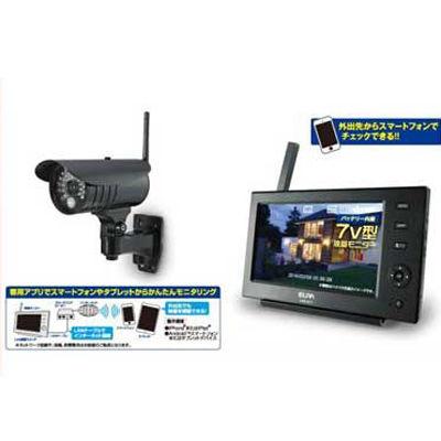 朝日電器 ワイヤレスカメラ&モニター CMS-7110