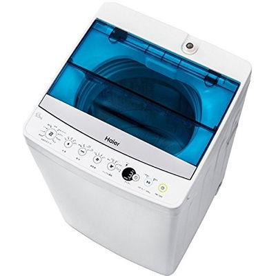 ハイアール 10分洗濯で時短。しわケアモードならアイロン時間と手間を短縮できる! 5.5kg自動洗濯機(ホワイト) JW-C55A-W【納期目安:1週間】