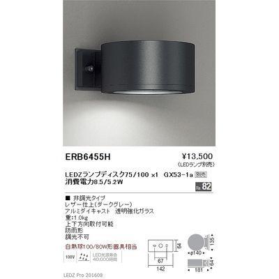 遠藤照明 STYLISH LEDZ series アウトドアブラケット ERB6455H