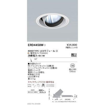 遠藤照明 LEDZ ARCHI series ユニバーサルダウンライト ERD4458W