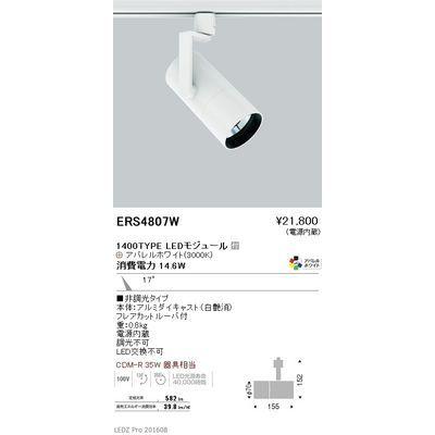 遠藤照明 LEDZ ARCHI series グレアレススポットライト ロングフード ERS4807W