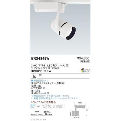 遠藤照明 LEDZ ARCHI series スポットライト ERS4849W