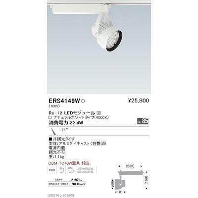 遠藤照明 LEDZ Rs series スポットライト ERS4149W