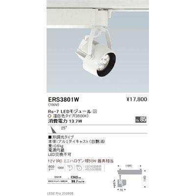 遠藤照明 LEDZ Rs series スポットライト ERS3801W