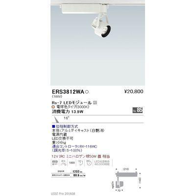 遠藤照明 LEDZ Rs series スポットライト ERS3812WA
