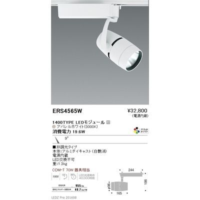 遠藤照明 LEDZ ARCHI series スポットライト ERS4565W