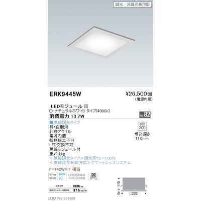 遠藤照明 LEDZ Mid Power series フラットベースミニ ERK9445W
