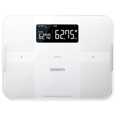 オムロン 体重体組成計 カラダスキャン HBF-255T-W