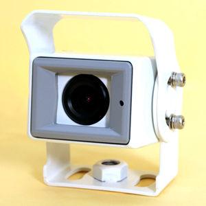 アイ・ティー・エス スピードプラス 1/3インチ 防水仕様52万画素広角カメラ(ホワイト) SPC-092W