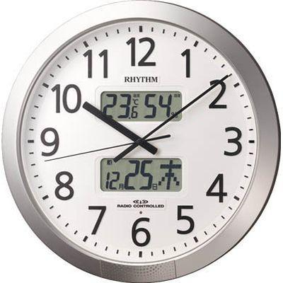 リズム時計工業 RHYTHM プログラムオフィス404 4FN404SR19