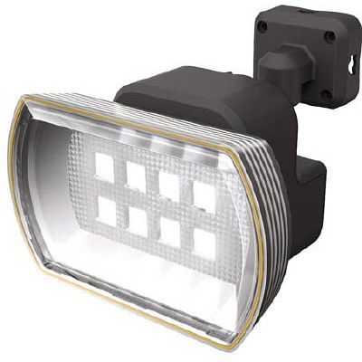 ムサシ ムサシ 8Wワイド フリーアーム式LEDソーラーセンサーライト S80L