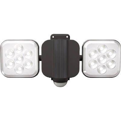 ムサシ ムサシ 8W×2灯 フリーアームLEDセンサーライト LEDAC2016