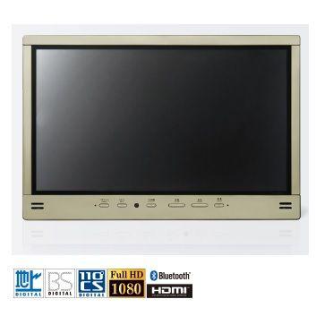 ツインバード 32V型浴室テレビ(シャンパンゴールド) VB-BS325G