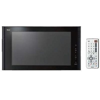 リンナイ 16V型地上・BS/110度CSデジタルハイビジョン浴室テレビ(ブラック) DS-1600HV-B