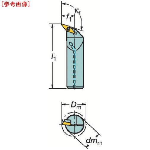 サンドビック サンドビック コロターン107 ポジチップ用ボーリングバイト A25TSVQBL16D