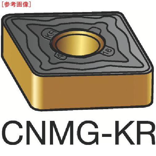 サンドビック 【10個セット】サンドビック T-Max P 旋削用ネガ・チップ 3205 CNMG120408KR-1