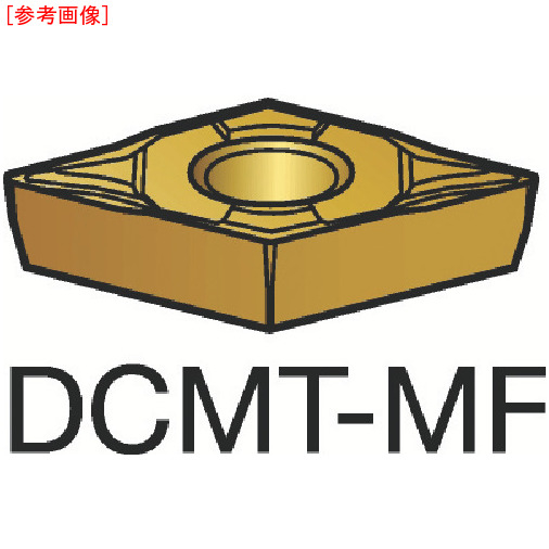サンドビック 【10個セット】サンドビック コロターン107 旋削用ポジ・チップ 2015 DCMT11T304MF-5