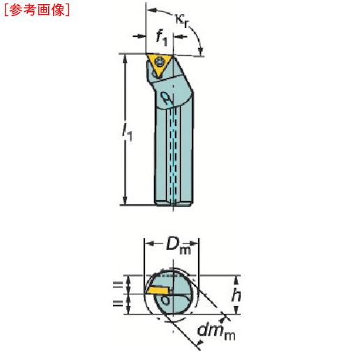 サンドビック サンドビック コロターン107 ポジチップ用超硬防振ボーリングバイト F10MSTFCR09R