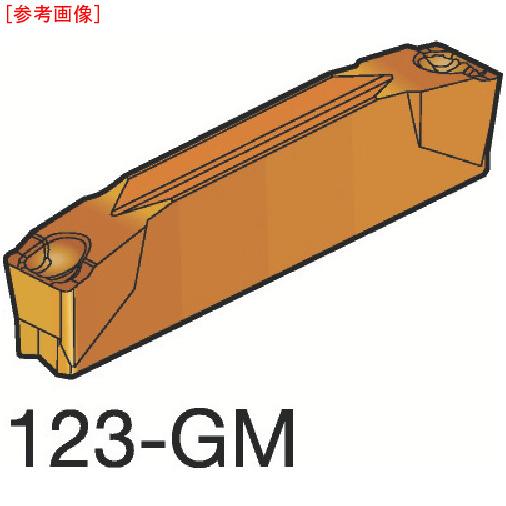 サンドビック 【10個セット】サンドビック コロカット2 突切り・溝入れチップ H13A N123E2023900-3