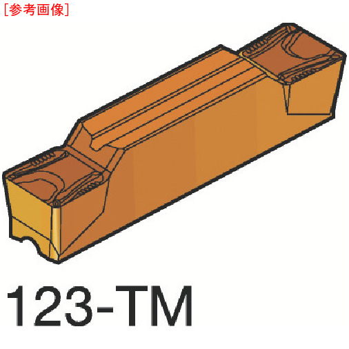 サンドビック 【10個セット】サンドビック コロカット2 突切り・溝入れチップ 1125 N123H2040000-33