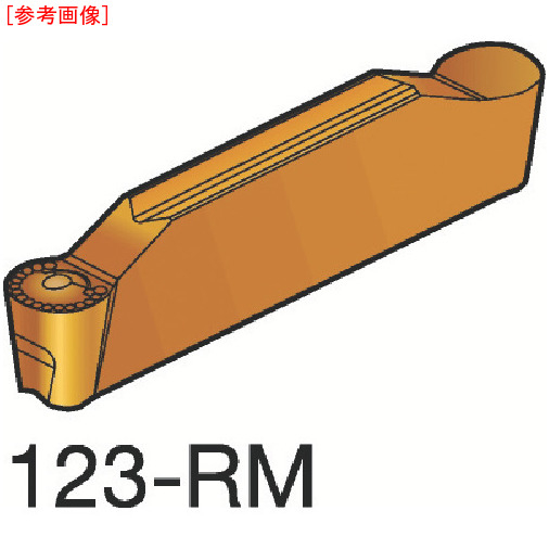 サンドビック 【10個セット】サンドビック コロカット2 突切り・溝入れチップ H13A N123H20500RM-2