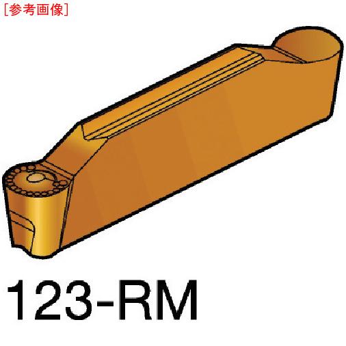 サンドビック 【10個セット】サンドビック コロカット2 突切り・溝入れチップ 2135 N123J20600RM-1