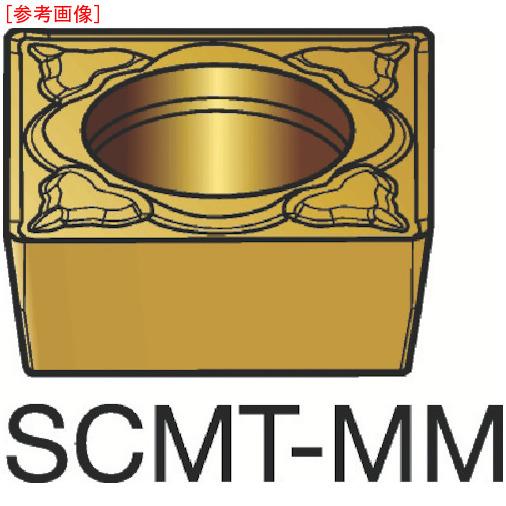 サンドビック 【10個セット】サンドビック コロターン107 旋削用ポジ・チップ 1115 SCMT09T308MM-2