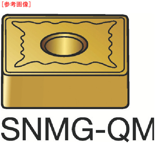 サンドビック 【10個セット】サンドビック T-Max P 旋削用ネガ・チップ 235 SNMG120412QM-3