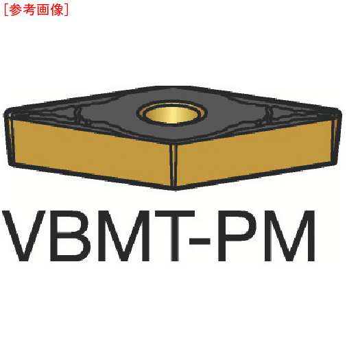 サンドビック 【10個セット】サンドビック コロターン107 旋削用ポジ・チップ 1515 VBMT160404PM-1