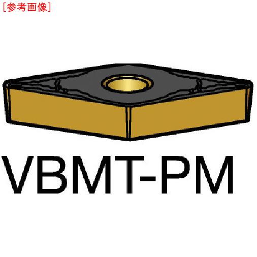 サンドビック 【10個セット】サンドビック コロターン107 旋削用ポジ・チップ 5015 VBMT160408PM-6