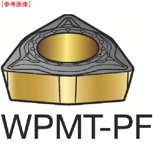 サンドビック 【10個セット】サンドビック コロターン111 旋削用ポジ・チップ 5015 WPMT040204PF-3