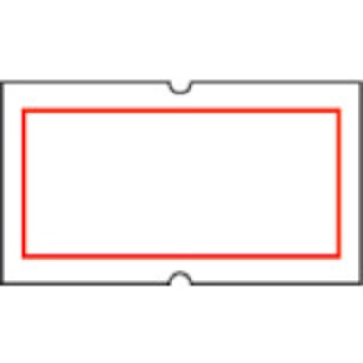 サトー SATO SP用ベル赤枠(強粘) (100巻入) 219999012
