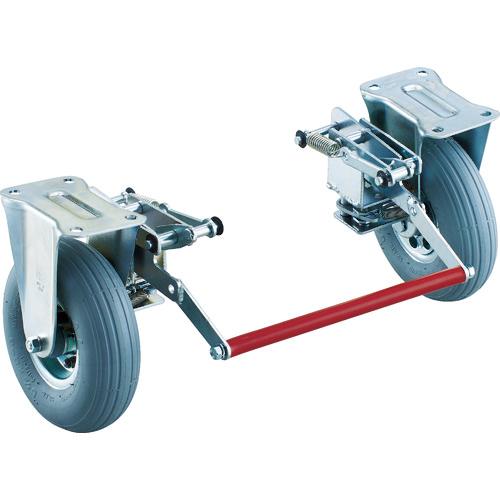 300NARKB トラスコ中山 ドンキーカート 300番用ブレーキ空気入り固定車輪付 TRUSCO