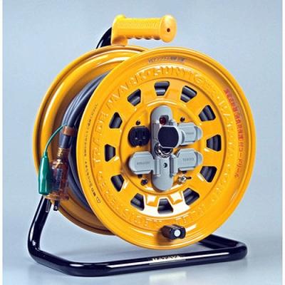 ハタヤリミテッド ハタヤ サンタイガーリール 漏電遮断器付・接地付 BG-301KX 4930510104140