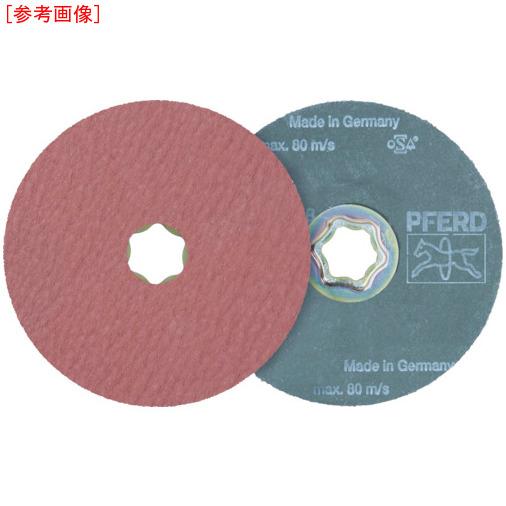 PFERD社 【25個セット】PFERD ディスクペーパー コンビクリック酸化アルミナ COOLタイプ 836187