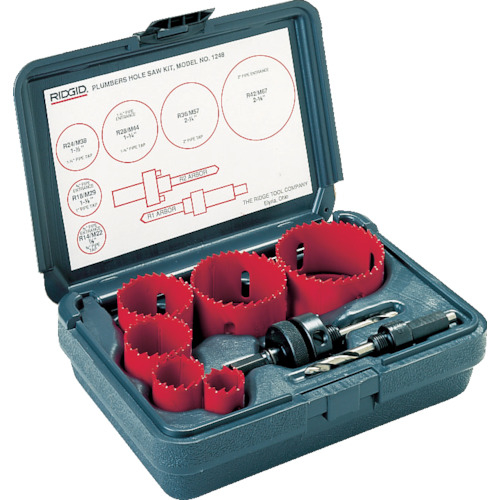 Ridge Tool Compan RIDGE 配管キット 1248 81490-8681