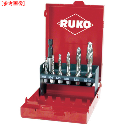RUKO社 RUKO 六角軸タッピングドリル セット R270020
