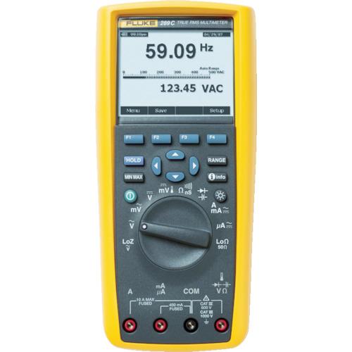 TFF フルーク社 FLUKE デジタルマルチメーター289(真の実効値トレンド・キャプチャー付) 289
