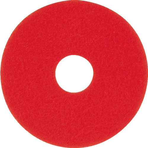 アマノ 【5個セット】アマノ フロアパッド13 赤 HEC801500