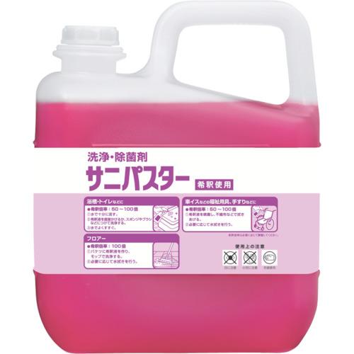 サラヤ サラヤ 洗浄・除菌剤 サニパスター 5Kg 31886