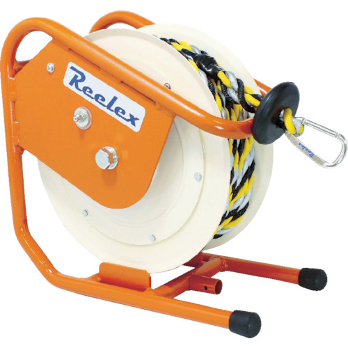 中発販売 Reelex バリアリール ロープタイプ 反射ロープ 外径12.0mm×10m BRR1210HL