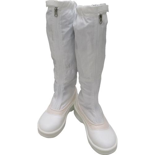 ゴールドウイン ゴールドウイン 静電安全靴ファスナー付ロングブーツ ホワイト 24.0cm PA9850W24.0