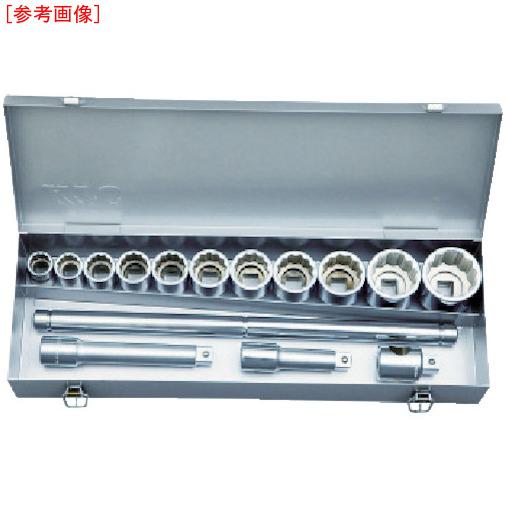 京都機械工具 KTC 19.0sq.ソケットレンチセット TB615A