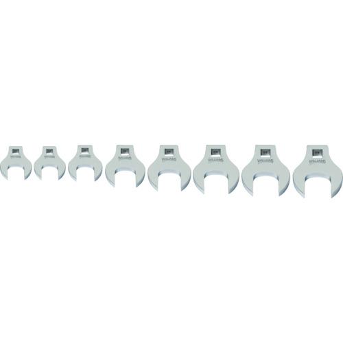 スナップオン・ツールズ WILLIAMS 3/8ドライブ クローフットレンチ セット(9~16mm) JHW10790