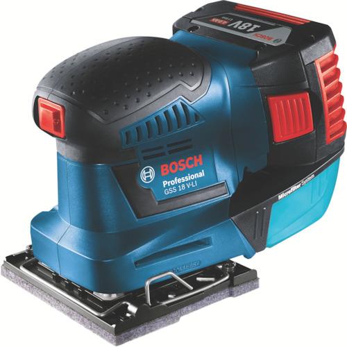 ボッシュ(BOSCH) ボッシュ バッテリー吸塵オービタルサンダー GSS18VLIH