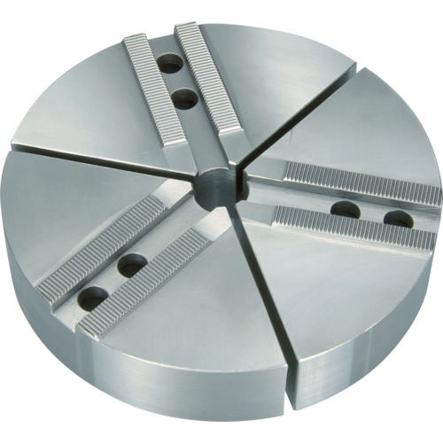 丸一切削工具 THE CUT 円形生爪 日鋼製 10インチ チャック用 TKR10N